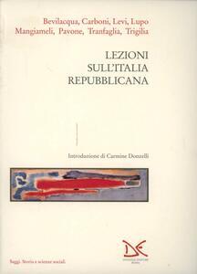 Libro Lezioni sull'Italia repubblicana