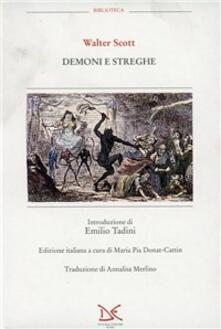 Demoni e streghe - Walter Scott - copertina