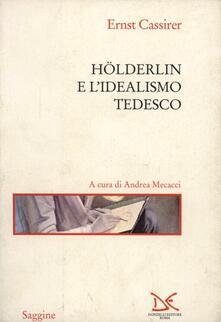 Hölderlin e l'idealismo tedesco