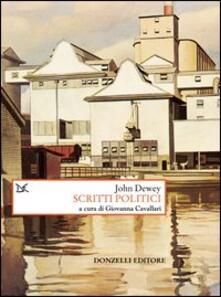 Scritti politici - John Dewey - copertina