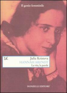 Promoartpalermo.it Hannah Arendt. La vita, le parole Image