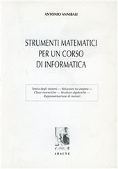Strumenti matematici per un corso di informatica