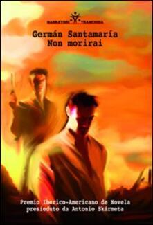 Non morirai - Germán Santamaría - copertina