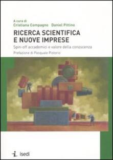 Ricerca scientifica e nuove imprese. Spin-off accademici e valore della conoscenza.pdf