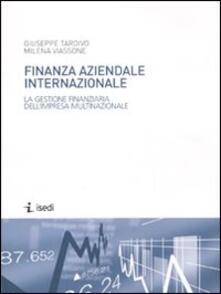 Steamcon.it Finanza aziendale internazionale. La gestione finanziaria dell'impresa multinazionale Image