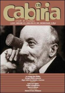 Camfeed.it Cabiria. Studi di cinema. Vol. 170 Image