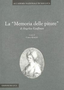 La «Memoria delle pitture» di Angelica Kauffmann