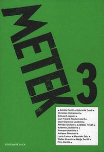 Metek abecedario allunatico. Vol. 3
