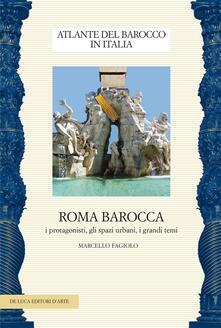 Antondemarirreguera.es Roma barocca. I protagonisti, gli spazi urbani, i grandi temi Image