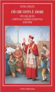 Ciò che conta è amare. Vita del beato cardinale Alfredo Ildefonso Schuster