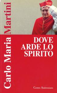 Dove arde lo Spirito. Esercizi spirituali predicati dal cardinale arcivescovo Carlo Maria Martini alla diocesi di Milano (dal 13 al 17 ottobre 1997)