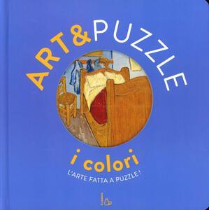 I colori. Art&puzzle. L'arte fatta a puzzle. Ediz. illustrata. Con 7 puzzle