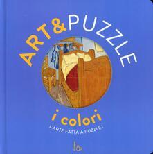 I colori. Art&puzzle. Larte fatta a puzzle. Ediz. illustrata. Con 7 puzzle.pdf