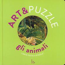Cefalufilmfestival.it Gli animali. Art&puzzle. L'arte fatta a puzzle. Ediz. illustrata. Con 7 puzzle Image