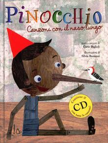 Voluntariadobaleares2014.es Pinocchio. Canzoni con il naso lungo. Ediz. illustrata. Con CD Audio Image