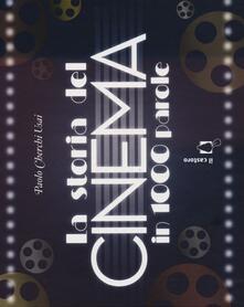 La storia del cinema in 1000 parole - Paolo Cherchi Usai - copertina