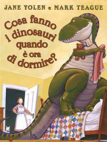 Ristorantezintonio.it Cosa fanno i dinosauri quando è ora di dormire? Image