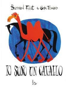 Io sono un cavallo. Ediz. illustrata - Bernard Friot,Gek Tessaro - copertina
