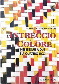 L' intreccio e il colore nei tessuti a due e quattro licci