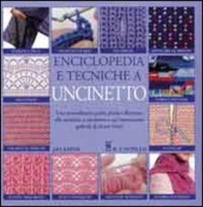 Enciclopedia e tecniche a uncinetto