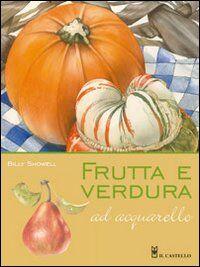Frutta e verdura ad acquarello