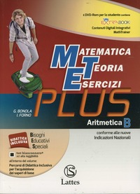 MATEMATICA TEORIA ESERCIZI PLUS 2