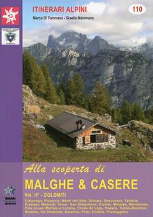 Voluntariadobaleares2014.es Alla scoperta di malghe & casere. Vol. 2: Dolomiti. Image