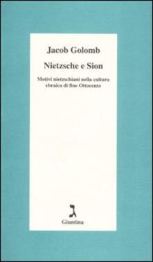 Birrafraitrulli.it Nietzsche e Sion. Motivi nietzschiani nella cultura ebraica di fine Ottocento Image