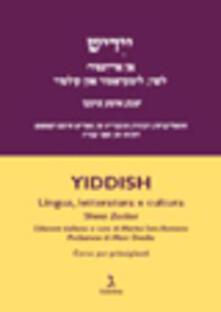 Antondemarirreguera.es Yiddish. Lingua, letteratura e cultura. Corso per principianti Image