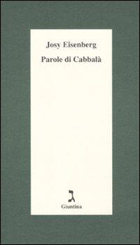Parole di Cabbalà