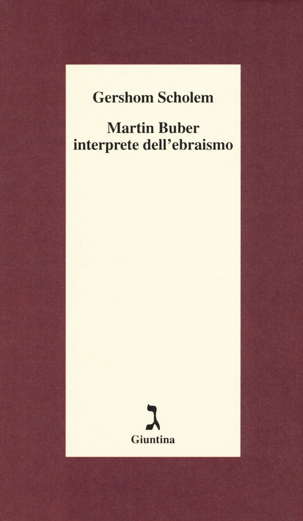 Martin Buber interprete dell'ebraismo