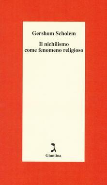 Winniearcher.com Il nichilismo come fenomeno religioso Image