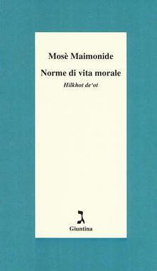Norme di vita morale. Hilkhot deot.pdf