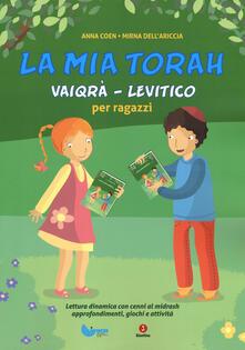 La mia Torah. Vaiqrà, Levitico per ragazzi.pdf