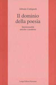 Il dominio della poesia. Intertestualità antiche e moderne