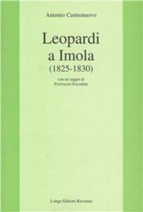Leopardi a Imola (1825-1830)