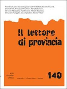 Radiospeed.it Il lettore di provincia. Vol. 140 Image