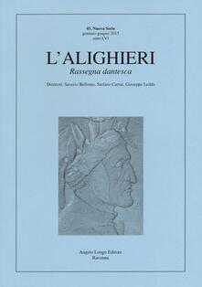 Festivalshakespeare.it L' Alighieri. Rassegna dantesca. Vol. 45 Image