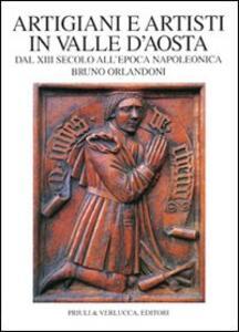 Artigiani e artisti in Valle d'Aosta dal XIII secolo all'epoca napoleonica
