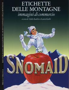 Etichette delle montagne. Immagini di commercio. Ediz. italiana e inglese