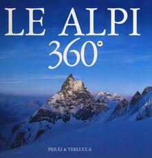 Promoartpalermo.it Le Alpi 360º. Ediz. italiana e inglese Image