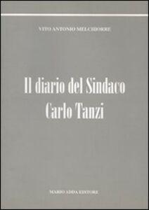 Il diario del sindaco Carlo Tanzi