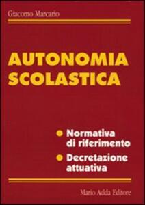 Autonomia scolastica
