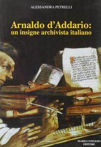 Arnaldo D'Addario: un insigne archivista italiano