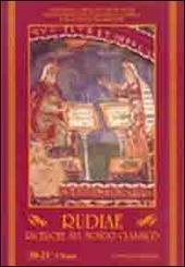 Rudiae. Ricerche sul mondo classico vol. 20-21/1