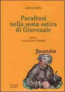 Parafrasi nella sesta satira di Giuvenale