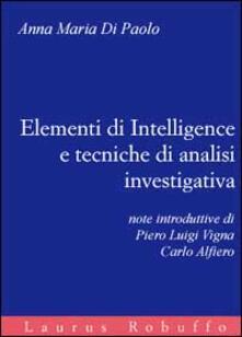 Secchiarapita.it Elementi di intelligence e tecniche di analisi investigativa Image