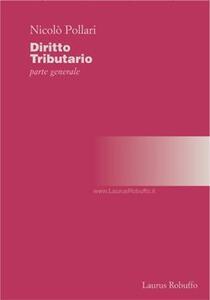 Diritto tributario. Parte generale