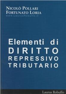 Elementi di diritto repressivo tributario