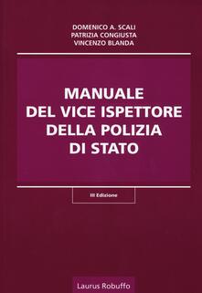 Camfeed.it Manuale del vice ispettore della polizia di Stato Image
